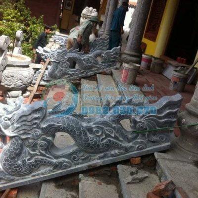 Các mẫu đồ thờ bằng đá tại cơ sở Kim Đô