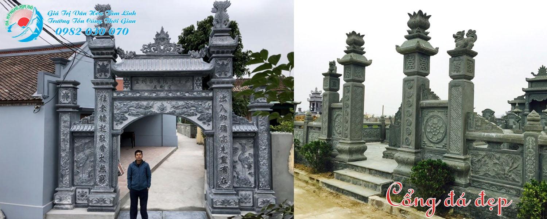 Đơn vị làm Cổng đá đẹp Uy Tín chất lượng tại Ninh Bình