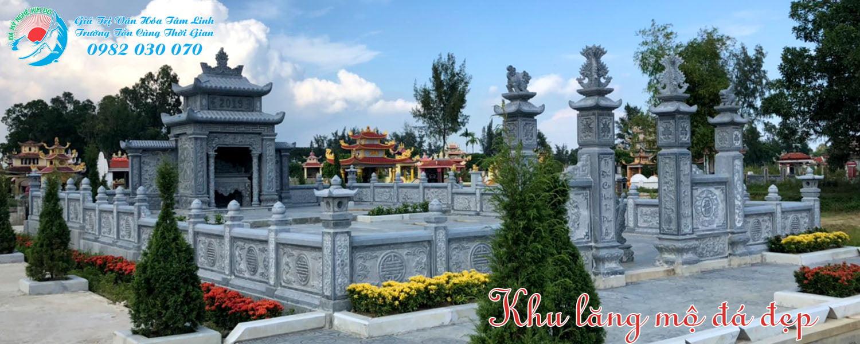 Đơn vị làm Khu lăng mộ đá đẹp Uy Tín chất lượng tại Ninh Bình